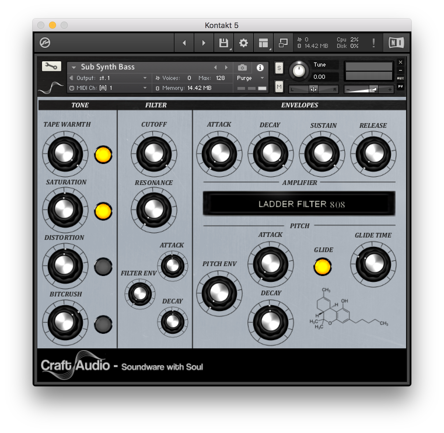 Craft Audio - Sub-Synth-Bass